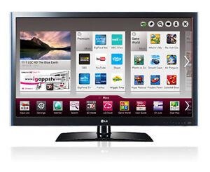 "AS-IS - 55"" LG  Smart TV 55LV5500"