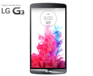 UNLOCKED LG G3 - 32Gb in Gray