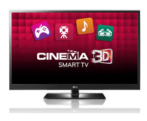 TELEVISION PLASMA 3D LG 60 POUCES 60PZ550 SMART  NETFLIX YOUTUBE