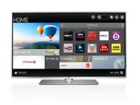 """LG 47"""" SMART LED TV BOXED FULL HD BUILT IN FREEVIEW INCLUDES REMOTE AND STAND EXCELLENT CONDITION"""