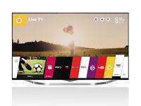 "LG 55UB850V LED 4K Ultra HD 3D Smart TV, 55"" with Freeview HD"