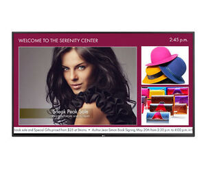 """LG 55"""" Inch Commercial LED Signage Display 55WS50BS-B"""
