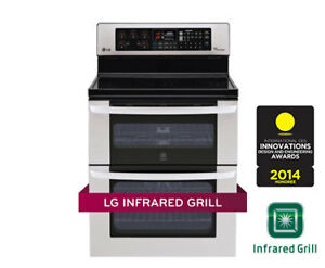 LG LDE3037ST 6.7 cu.ft. Double Oven Electric Range
