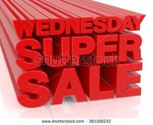 Super Wed 12-12 only Sale one day only  Penrith Penrith Area Preview
