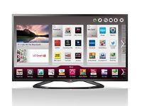 """LG 47"""" Smart LED TV, WiFi, hardly used, with box."""