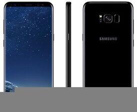 Samsung s8 plus 64gb midnight black