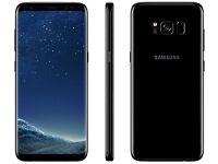 Samsung Galaxy S8 Black 64gb Brand New Sealed Box
