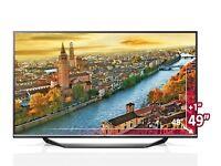 """Weekend Bargain!!! LG Smart TV 49UF770V 49"""" 2160p UHD LED Internet TV"""
