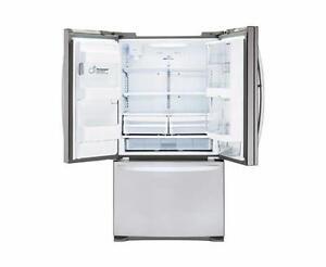LG LFXS24566S 23.9 Cu. Ft. F-Door Refrigerator w/ Door-in-door Stainless