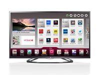 "LG 42"" Ultra Slim LED 3D Smart TV with wifi, Miracast, Freesat HD & Freeview HD"