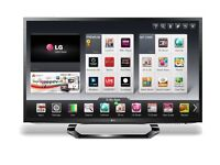 42 INCH LG 3D SMART SLIM LED FULL HD TV WITH BUILT IN FREEVIEW** DELIVERY IS POSSIBLE**