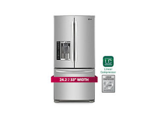 LG LFX25778ST French Door Refrigerator, 33 in, 25.0 cu.ft