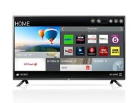 "LG 42"" Smart LED Tv wi-fi Netflix YouTube warranty free delivery"