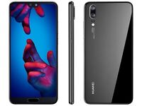 Huawei P20 smartphone 128gb 4gb RAM brand new sealed o2 but can be unlocked