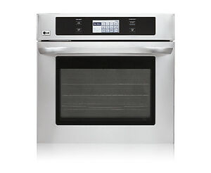 LG Single Wall Oven (Stainless Steel) BNB