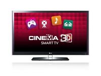 "LG 42"" Cinema 3D LED TV with Smart TV, freeview HD and 600Hz with FREE Sony Home Theatre HT-IS100"