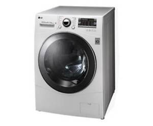 LG 8.5 / 4.5kg Direct Drive Front Load Washer / Dryer (White)