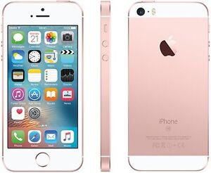 Iphone SE 64gb rose with Bell / Virgin / Rogers