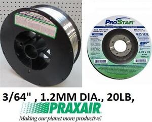 NEW PRAXAIR ALUMINUM WELDING WIRE SPOOL