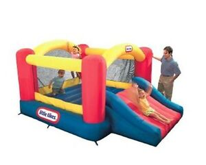 Bouncy Castle Rental- Little Tikes® Jump 'n' Slide Dry Bouncer
