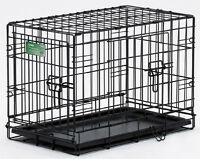 Midwest iCrate Double-Door Folding Metal Dog Crate
