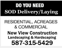 SOD Delivery and Installation in Calgary