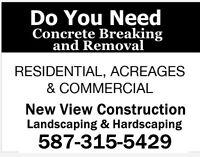 Calgary Concrete Breakout/Excavation & Gravel/Brick Delivery