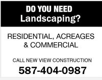 Landscaping – Sod – Ponds – Retainer Walls - Decks -Calgary