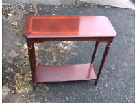 small oblong occasional table