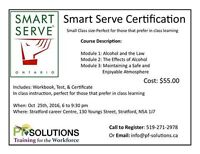 Smart Serve Cerification