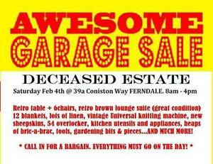 GARAGE SALE - DECEASED ESTATE Ferndale Canning Area Preview