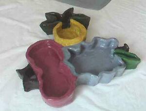 """Pot, ceramic length 12 cm x  6cm (6""""x2.5"""") $10,00. Very nice dec"""