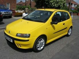 Fiat punto 1.2 16v sporting yellow