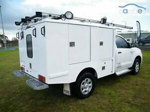 2008 Toyota Hilux Ute work tradesman ixl canopy tool box Newport Hobsons Bay Area Preview