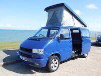 VW T4 2.4L Diesel Campervan Reimo Roof Rock n Roll Bed