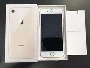 Gold Iphone 8 64gb unlocked - perfect condition