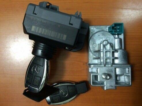 Mercedes steering lock ESL / ELV repair service w204 w207