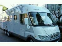 Large Hymer A class required