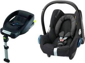 Cabriofix car seat and Easy fix base