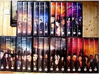 TV series ANGEL seasons 1 - 5 VHS in great condition, some not even open/watched.