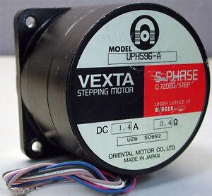 Vexta Full Stepping Motor 5 Phase Uph596 A Oriental Motor