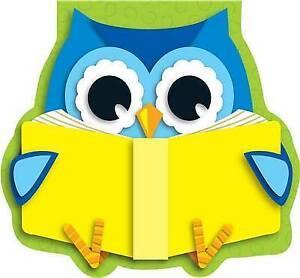 Reading Owl Notepad by Carson Dellosa Publishing Company (Hardback, 2013)