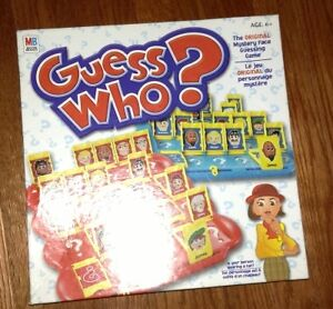 Guess who game for sale