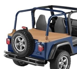 New Jeep TJ Wrangler Duster Deck Cover