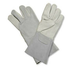 douze paires Gants de soudeur cuir dozen leather welding gloves