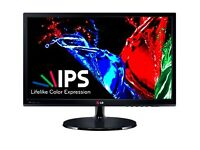 LG 22EA53VQ 21.5-inch, IPS, LED, FULL HD Monitor - Brand New Condition