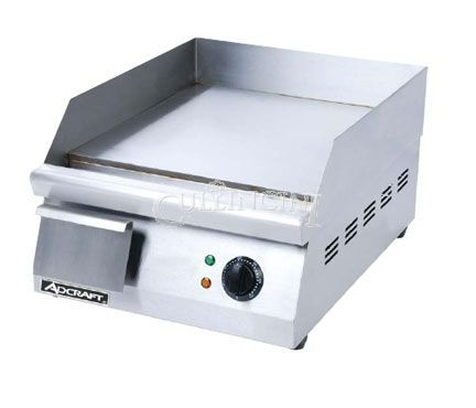 Adcraft Griddle, Electric, 15.5 x 16, Countertop - Grid-16