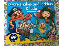 Pirate Snakes and Ladders & Ludo (Orchard Toys)