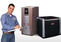 FURNACE - AC - DUCTWORK - HOT WATER