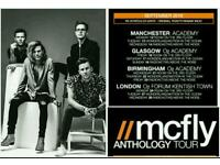 Mcfly anthology tour - Wonderland and Motion in the Ocean